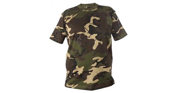 Avid Carp Camo T Shirt Carp Fishing Top